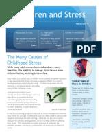 Children and Stress Newsletter