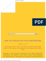 1997 Rules of Civil Procedure - Chan Robles Virtual Law Library