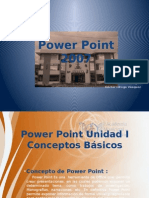 Diapositivas de Clases de Power Point.