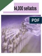 Los 144,000 Sellados