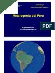 Metalogenia Del Perú