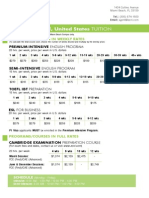 Miami Beach Pricelist