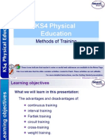 11  methods of training