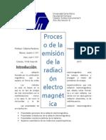 Proceso de La Radiacion Electromagnetica
