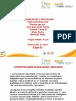 Trabajo Grupal -Comunicación y Educación