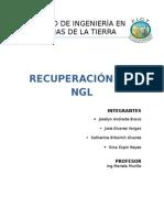 RECUPERACION DE NGL