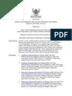 PMK_224_PMK.08_2011_Tata Cara Pemantauan Dan Evaluasi Atas Pinjaman Dan Hibah Kepada Pemerintah