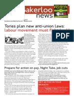 Bakerloo News (May-June)