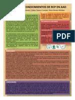 Grado de Conocimiento de RCP en AAD