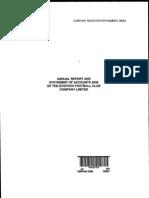 EFC Accounts 1999-2000