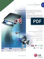 LG Data Storage Spec BP40NS20