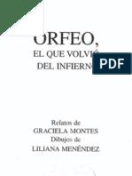 Montes, Graciela (1997) Orfeo El Que Volvió Del Infierno, Odo-Gramon, Colihue, Página 12