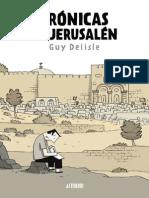 Guy Delisle_Crónicas de Jerusalén