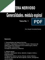 Generalidades y Médula Espìnal