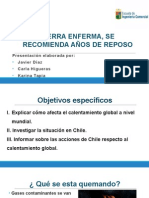 PPT calentamiento global