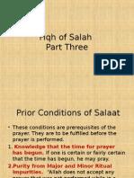 Fiqh of Salah Part 3