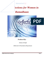 10 Reflections for Women in Ramadan
