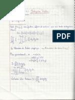 Chapitre 5 - Analyse Vectorielle