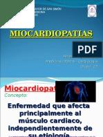Miocardiopatias. Alfredo Sejas Claros