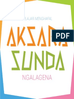 Belajar Menghafal Aksara Sunda Ngalagena