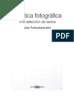 Historia de la Fotografía.