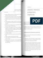 Contratos y propuestas obras