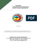 Pedoman Pengorganisasian Radiologi Rsi Pwt