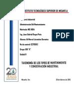 unidad II Administracion Del Mtto