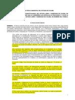 Codigo Fiscal Municipal Del Estado de Colima