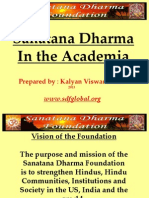 Sanatana Dharma And TheAcademia