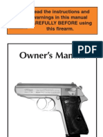Walther PPK, PPKS Manual