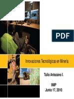 Inovaciones Tecnologicas en Mineria