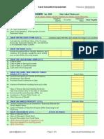 Zakat Calculator in Excel