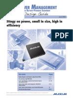 Power  Management for Battery Powered Equipment - Design  Guide