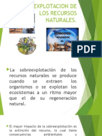 Sobreexplotacion de Los Recursos Naturales