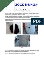 159 Caisson Leak Repair