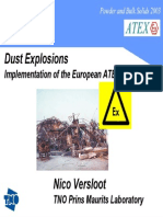 Dust Hazard Protection Atex Std