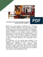 Homilía de Mons. Christophone Pierre, Nuncio Apostólico en México en el XIV CONIAM en Chihuahua