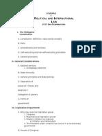 Political Law 2015 Syllabus