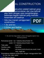 Elliptical Construction