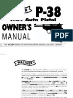 Walther P38 Manual