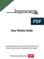 Ampeg SVX Gear Models