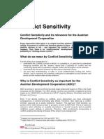 Conflict Sensitivity Oct2013