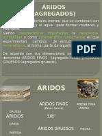 AGREGADOS - ENSAYOS RAPIDOS