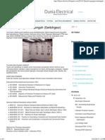 Panel Tegangan Menengah (Switchgear)