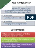 Tutorial Dermatitis Kontak Iritan.ppt