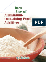 Guidelines on the Use of Aluminiumcontaining Food Additives