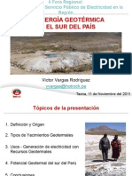 Energia Geotermica en El Sur Del Peru