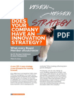 Does Your Company Have an Innovation Strategy