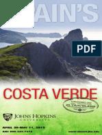 Spain Costa Verde